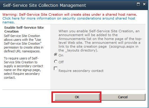 Configuring My Sites in SharePoint